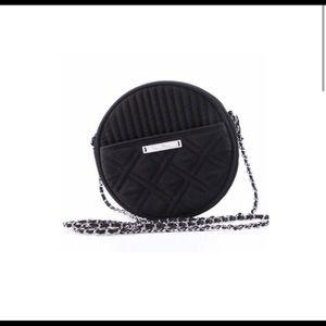 Vera Bradley round microfiber crossbody purse